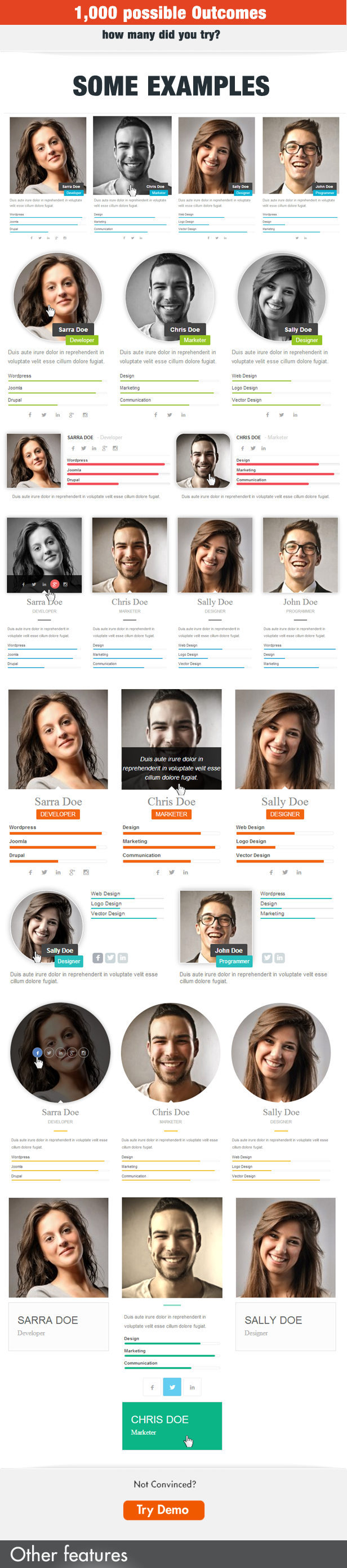My Team Showcase WordPress Plugin - 4