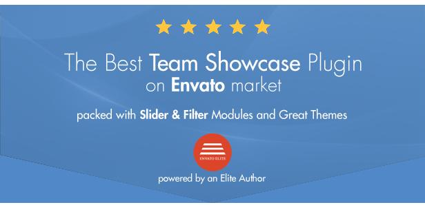 My Team Showcase WordPress Plugin - 1